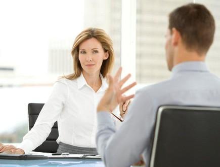 בוסית בראיון עבודה (צילום: אימג'בנק / Thinkstock)