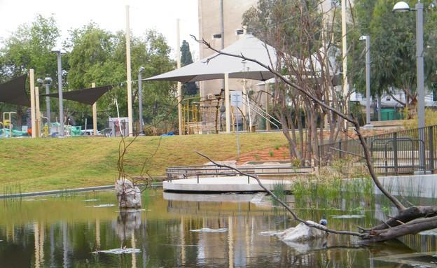 פארק קרית ספר (צילום: אבי לוי)