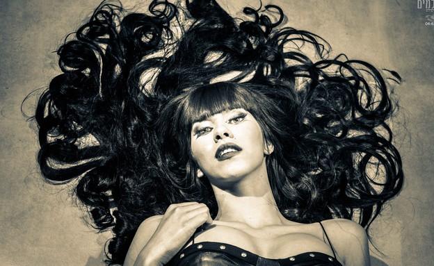 דלית זריהן בהפקת אופנה עפולאית (צילום: דדי רז מרז צלמים)
