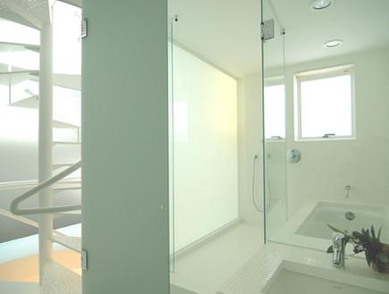 בית בהריון, מקלחת