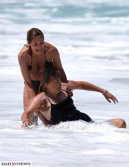 היידי קלום מצילה את הילדים