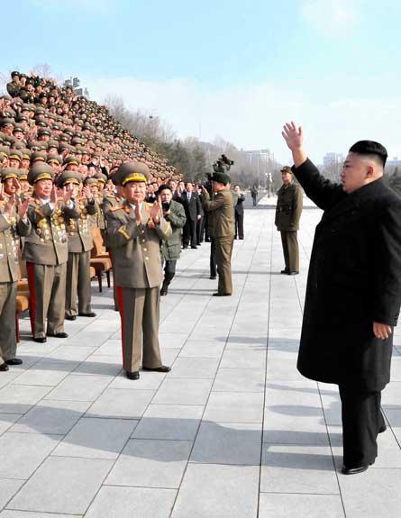דורש לבטל את הסנקציות. ז'ונג און (צילום: רויטרס)