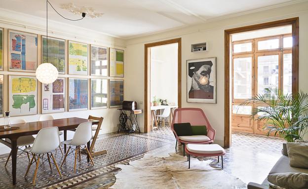 דירה ברצלונה, שטיח (צילום: Tiia Ettala)