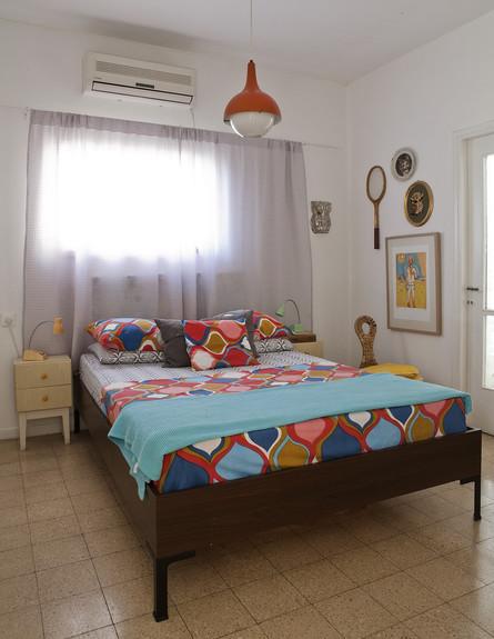 דנה תל אביב, חדר שינה (צילום: הגר דופלט)