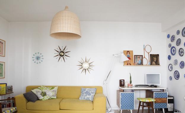 דנה תל אביב, סלון ספה (צילום: הגר דופלט)