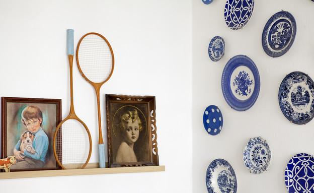 דנה תל אביב, צלחות על הקיר (צילום: הגר דופלט)