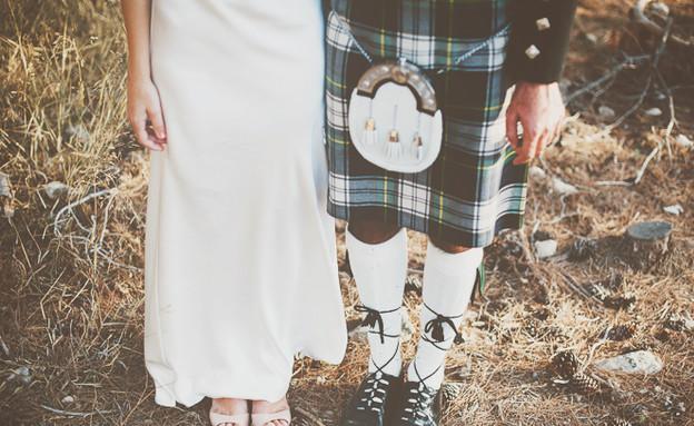 החתונה של שני ומרק רגליים (צילום: חגי גלילי)