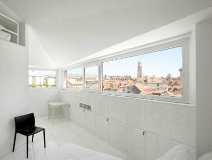 הוסטלים ספליט, חדר לבן (צילום: www.hermanmiller.com)