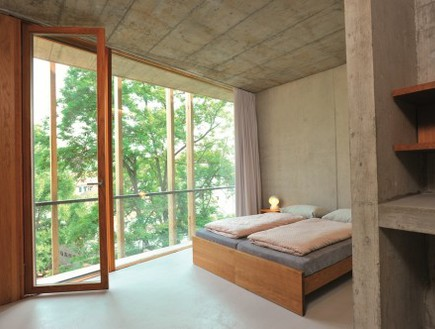 הוסטלים, בזל חדר שינה (צילום: www.youthhostel.ch)