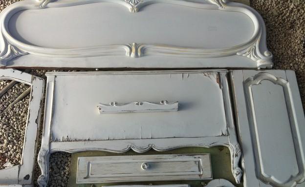 קיר רהיטים, חלקים (צילום: עודד קרני)