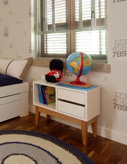 טלי רוזנשטיין, חדר ילד גובה (צילום: אלעד שריג)