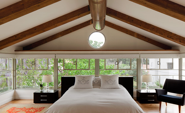 טלי רוזנשטיין, חדר שינה (צילום: אלעד שריג)