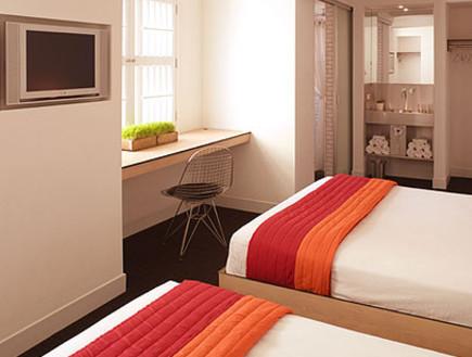 חדר בדה פוד הוטל, מלונות ניו יורק