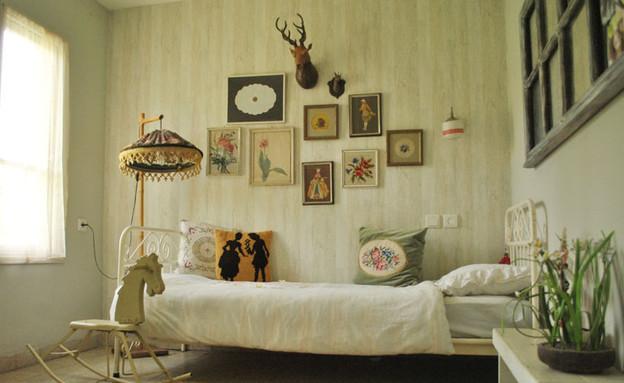 בית אייזנר, חדר (צילום: שלי צדוק)