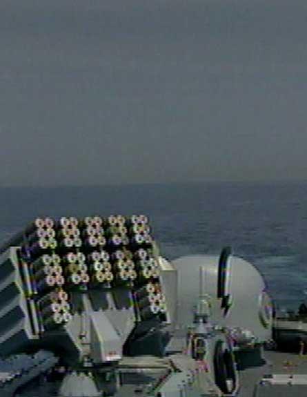 צפו: חיל הים מאבטח את קידוחי הגז (צילום: חדשות 2)