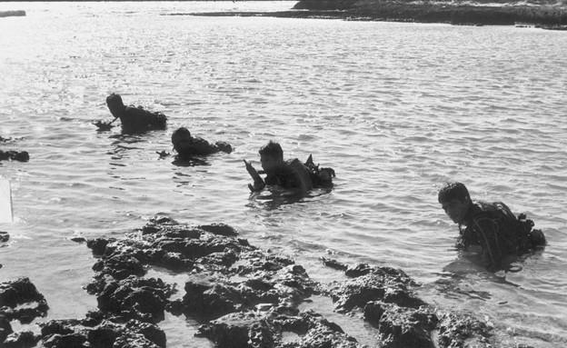 """הפשיטה על האי גרין (צילום: ארכיון צה""""ל ומערכת הביטחון)"""