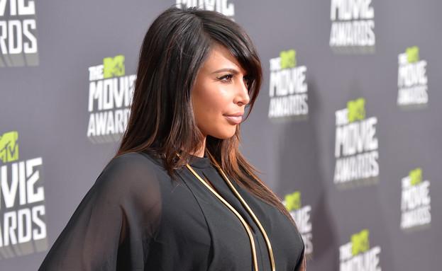 קים קרדשיאן MTV (צילום: Alberto E. Rodriguez, GettyImages IL)