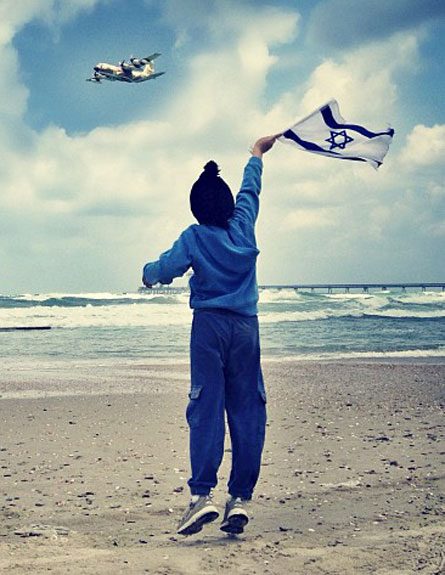 צפו: מטס חיל האוויר בשמי ישראל