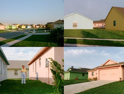המספריים של אדוארד, חזית בתים (צילום: thewitchofthewaste.blogspot)