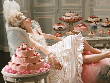 מרי אנטואנט, עוגה (צילום: www.cinema.de)