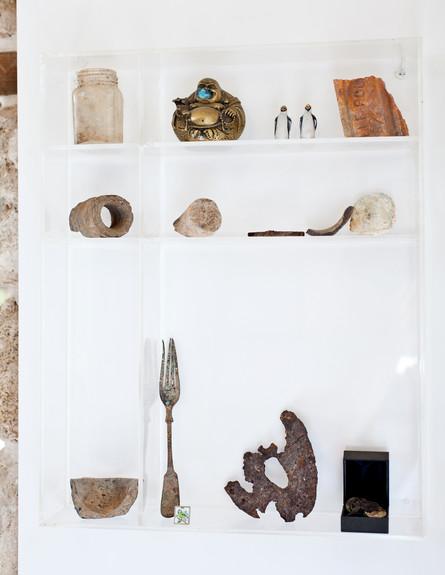 בית בסלמה, ארכיאולוגיה (צילום: בועז לביא)