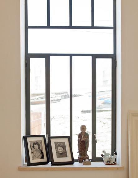 בית בסלמה, חלון (צילום: בועז לביא)