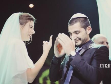 החתונה של בר ומורן (צילום: מאמא צלמים)