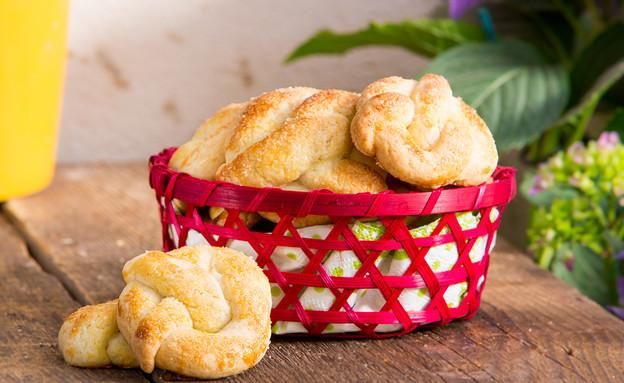 עוגיות פרעצל - תמונת רוחב (צילום: בני גם זו לטובה, אוכל טוב)