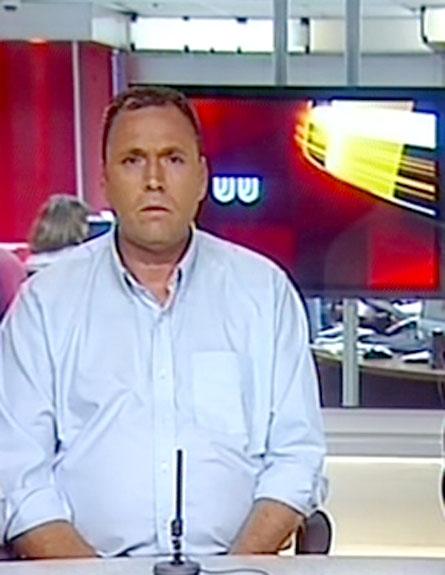 """השר כץ ויו""""ר ועד עובדי אל על (צילום: חדשות 2)"""