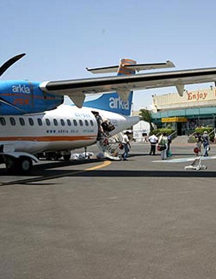 יישאר פתוח, שדה התעופה באילת (צילום: רשות שדות התעופה)