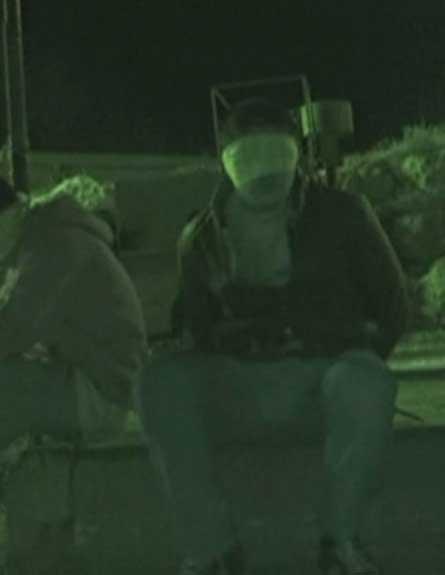 """צפו: ליל מעצרים של צה""""ל בשטחים (צילום: חדשות 2)"""