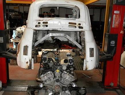 פיאט 500 עם מנוע למבורגיני