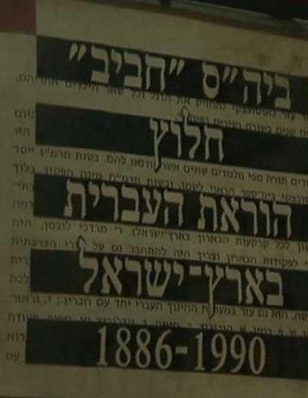 מי לימדה עברית ראשונה? (צילום: חדשות 2)