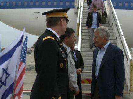 """""""מסר לאירן"""", שר ההגנה האמריקני ייפגש עם (צילום: שגרירות ארה""""ב)"""