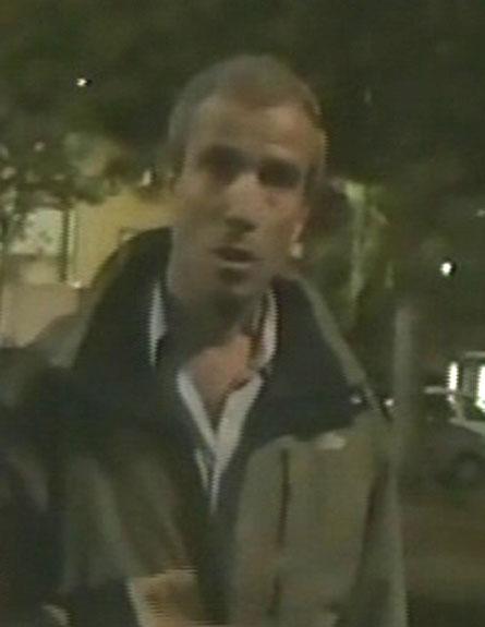 """ח""""כ שטרן, רגעים לאחר התקיפה (צילום: חדשות 2)"""