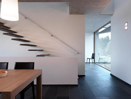 בלגיה בית ונוי, פינת אכול מדרגות