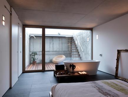 בלגיה בית ונוי, חדר שינה אמבט