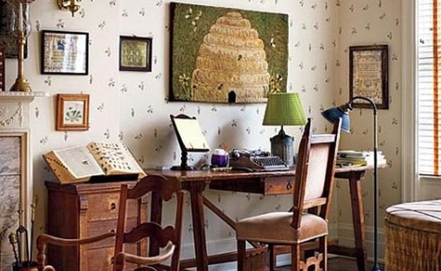 חדר עבודה, וודי אלן (צילום: flavorwire.com)