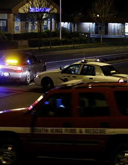"""אירוע ירי נוסף בארה""""ב (צילום: AP)"""