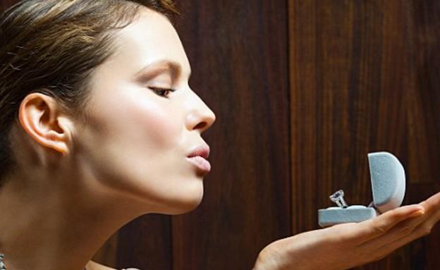 נשים מאורסות (צילום: dailymail.co.uk)