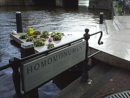 מונומנטים הכי גאים בעולם, homomonumentamsterdam