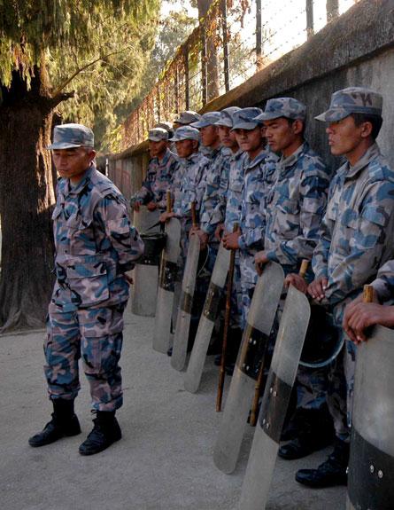נפאל: אזרח אירן אסף מודיעין לשם ביצוע פיגוע (צילום: AP)