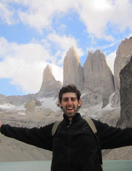 """אחיו של הנעדר בצ'ילה: """"מקווים מאוד שהוא לא בסכנת ח (צילום: באדיבות המשפחה)"""