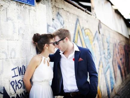 החתונה של דפנה ודרור (צילום: טלי ודבורה)