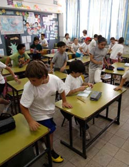 ילדים בכיתה (צילום: רויטרס)