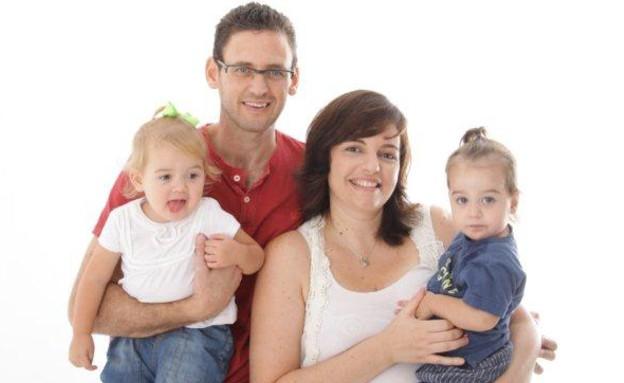 אייה, שריאל, עלמה ואליה גון (צילום: יעל אורבך)