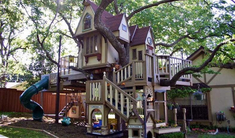 מדהים איך בונים בית מעץ לילדים? MU-89