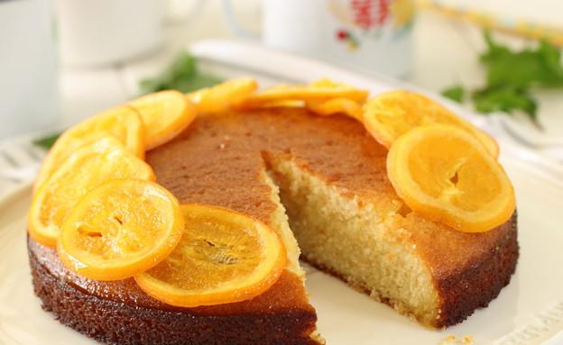 עוגת תפוזים וסולת (צילום: חן שוקרון, אוכל טוב)