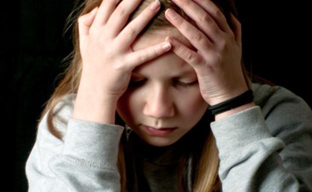 נערה במצוקה - אילוסטרציה (צילום: Thinkstock)