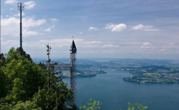 מרחוק, המעלית החיצונית הגבוהה באירופה